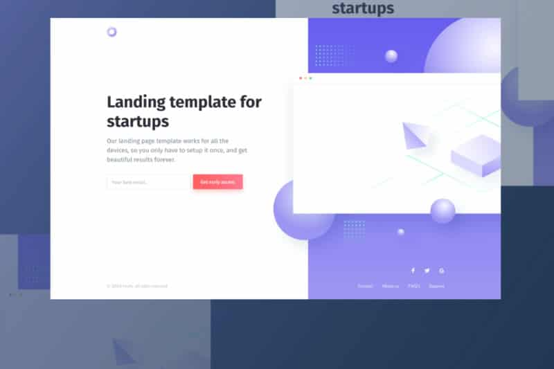 4 Landing Page Templates