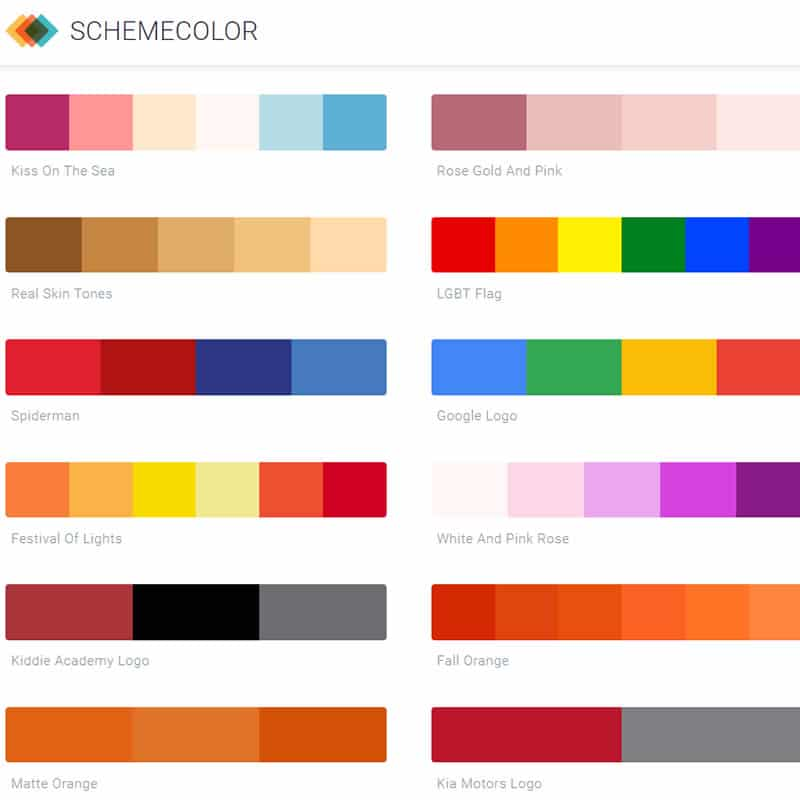 Schemecolor. Create It. Share It. & Favorite It.