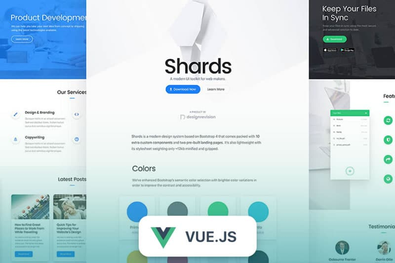 Shards Vue
