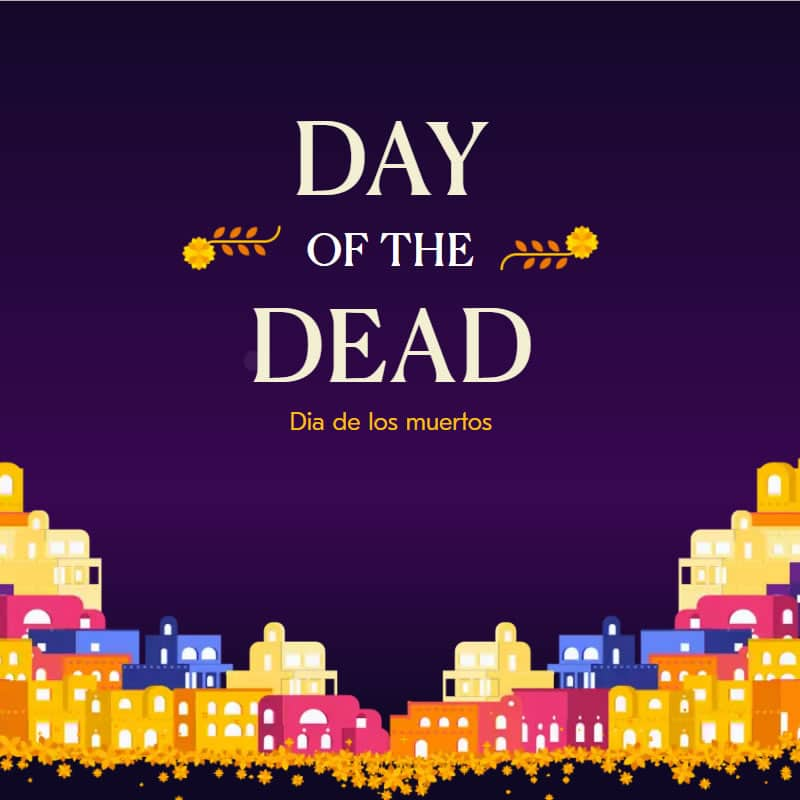 Day of the Dead illustrations and animations