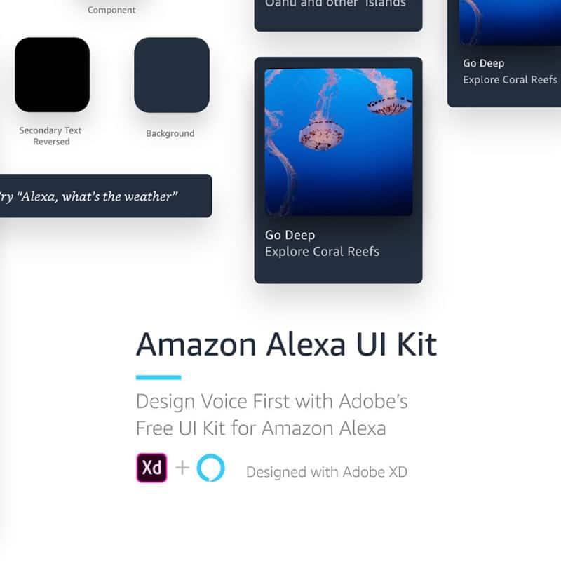 Voice UI Kit for Adobe XD