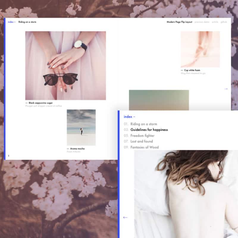 Page Flip Layout