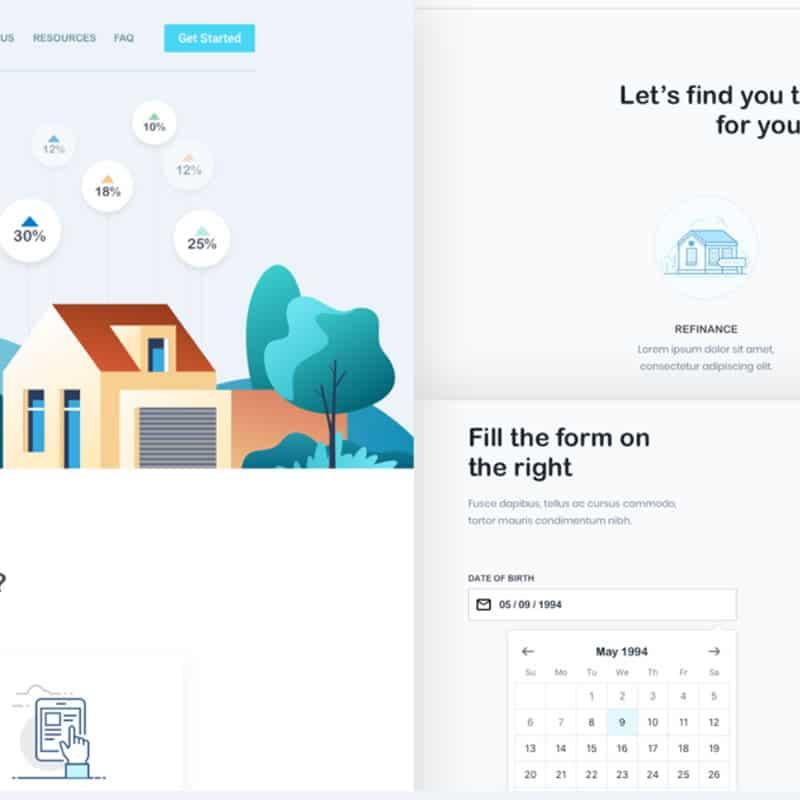 FairRate - Finance Web App / UI Kit