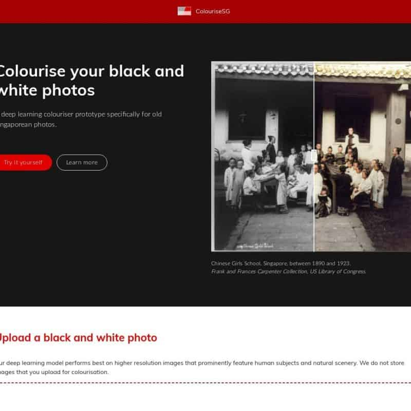 Colourise your black and white photos