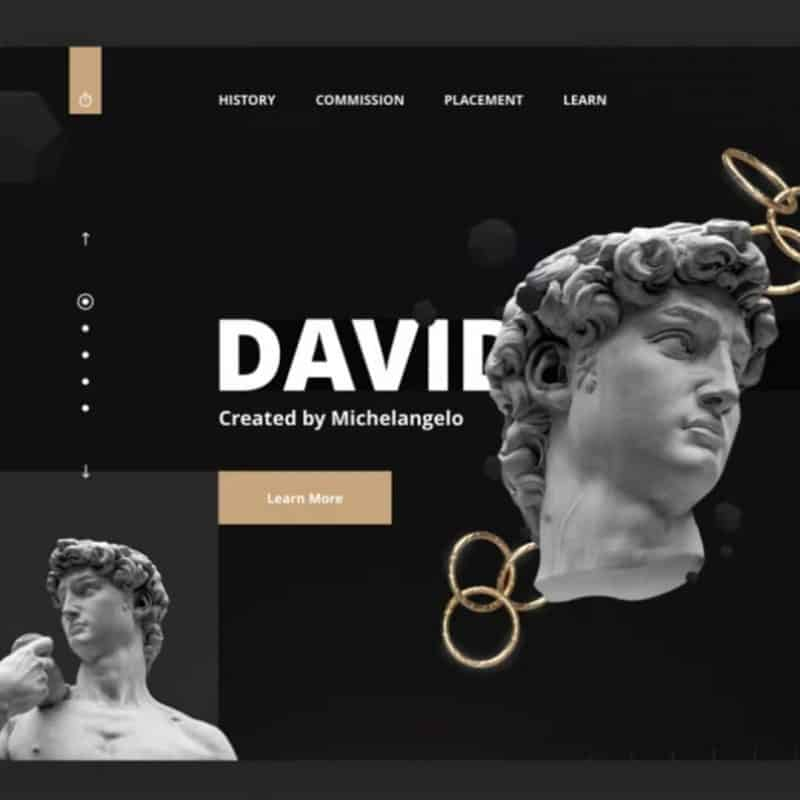 Adobe XD Modern Web Design