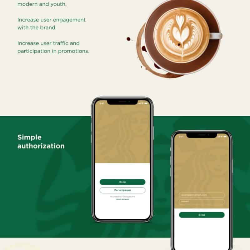 Starbucks App Redesign Concept