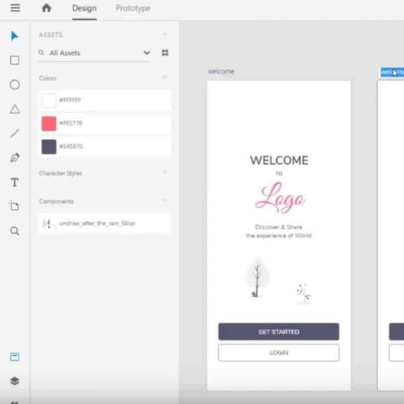 Design Mobile App UI in Adobe XD