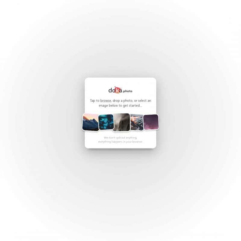 Doka - Free Online Image Editor