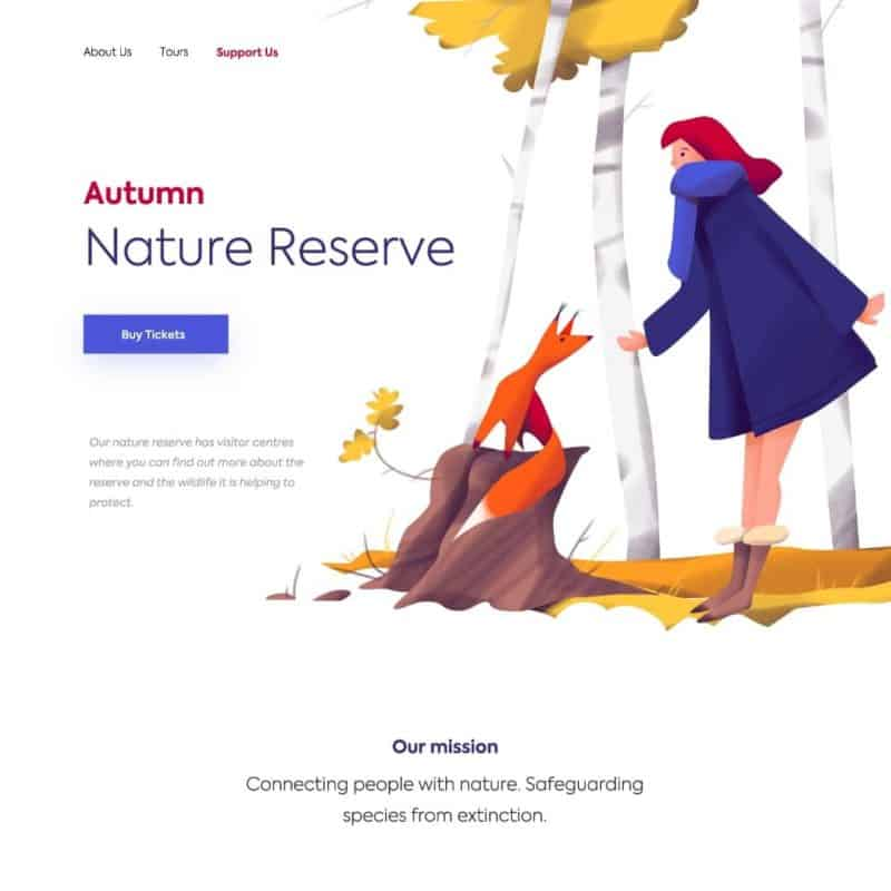 Autumn Nature Reserve