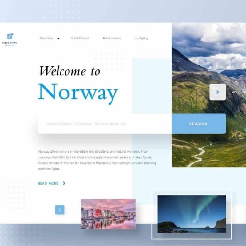 Website UI Design Tutorial Using Free UI Designing Tool Adobe XD