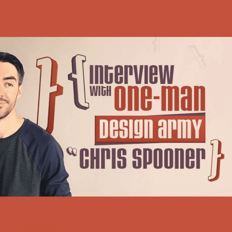 Interview with One-Man Design Army – Chris Spooner