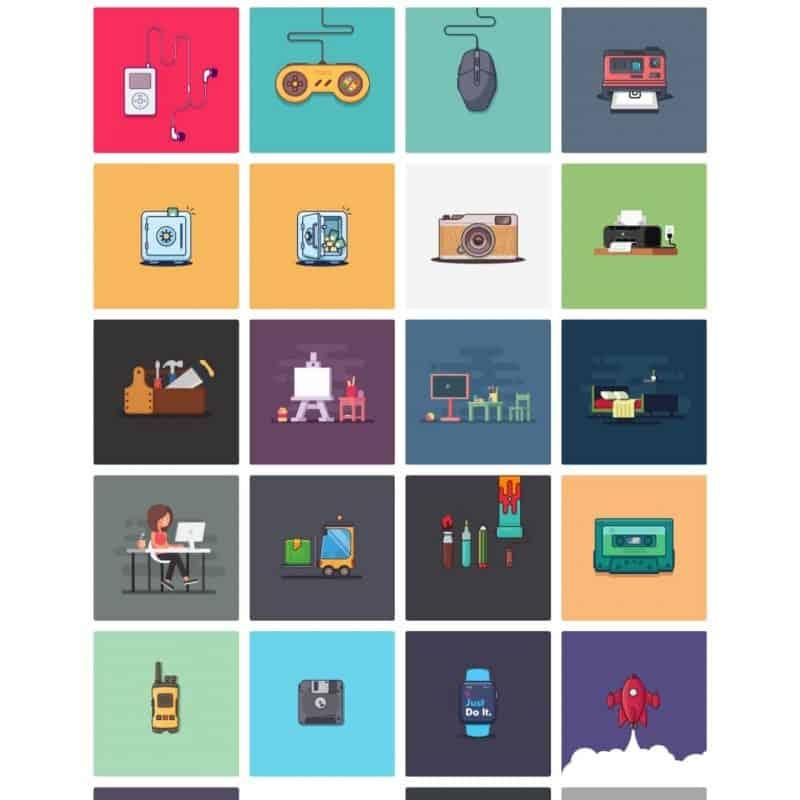 Open source illustrations kit
