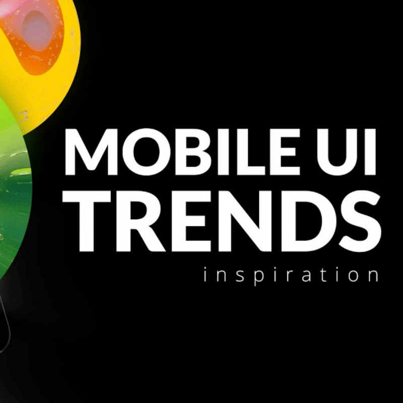 Mobile UI & UX Design Trends 2020
