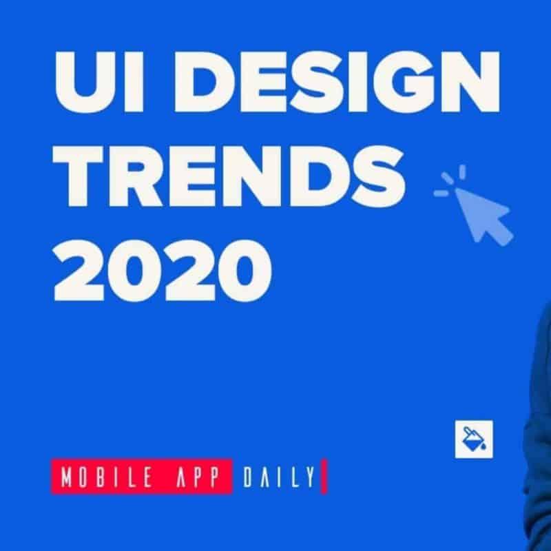 UI Design Trends in 2020