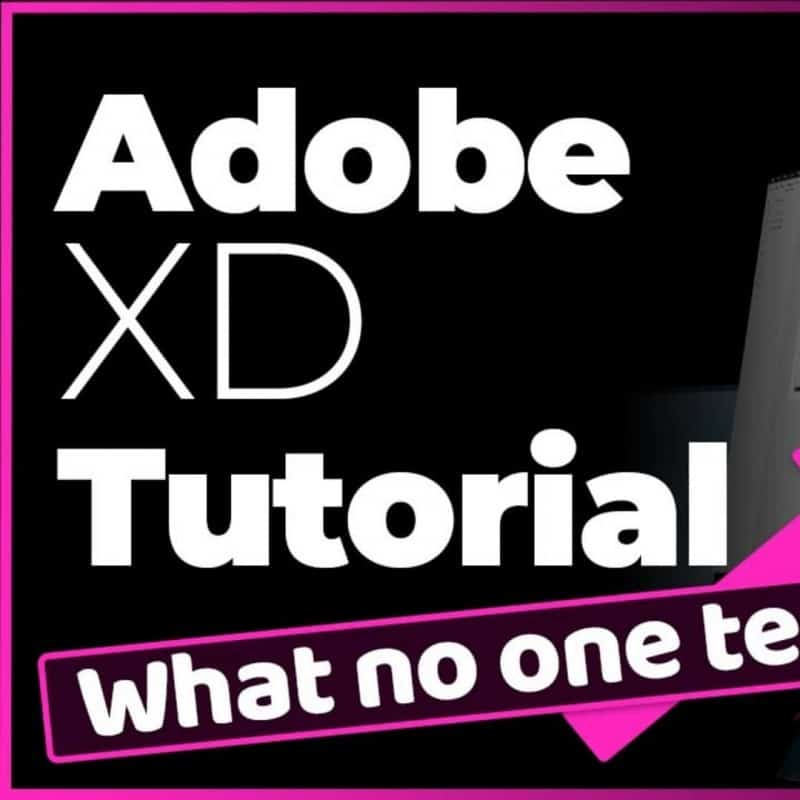 Adobe XD Tutorial - Design a website fast