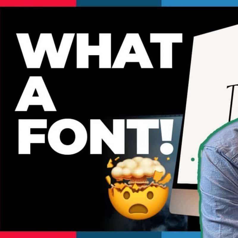What A FONT!