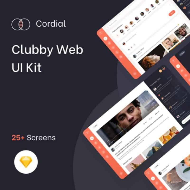 Clubby Web UI Kit