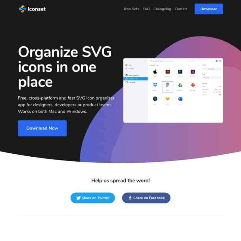 Organize SVG icons in one place