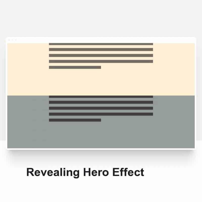 Revealing Hero Effect