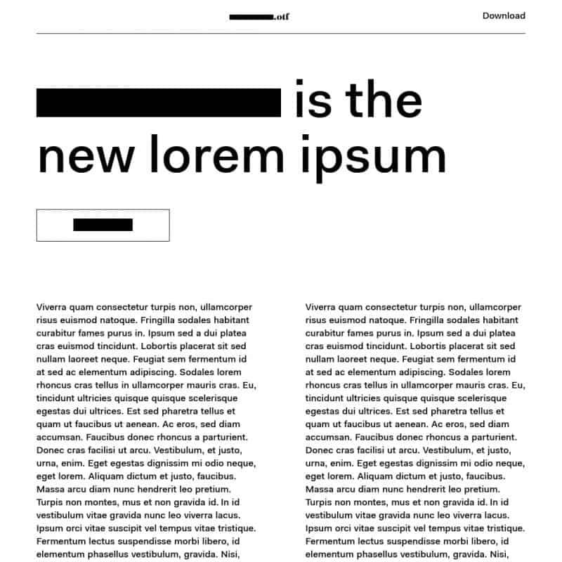 Wireframer Font