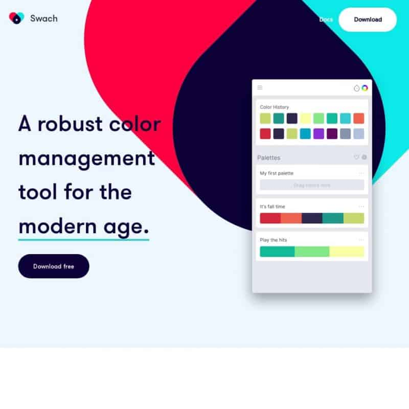 Color management tool - Swach