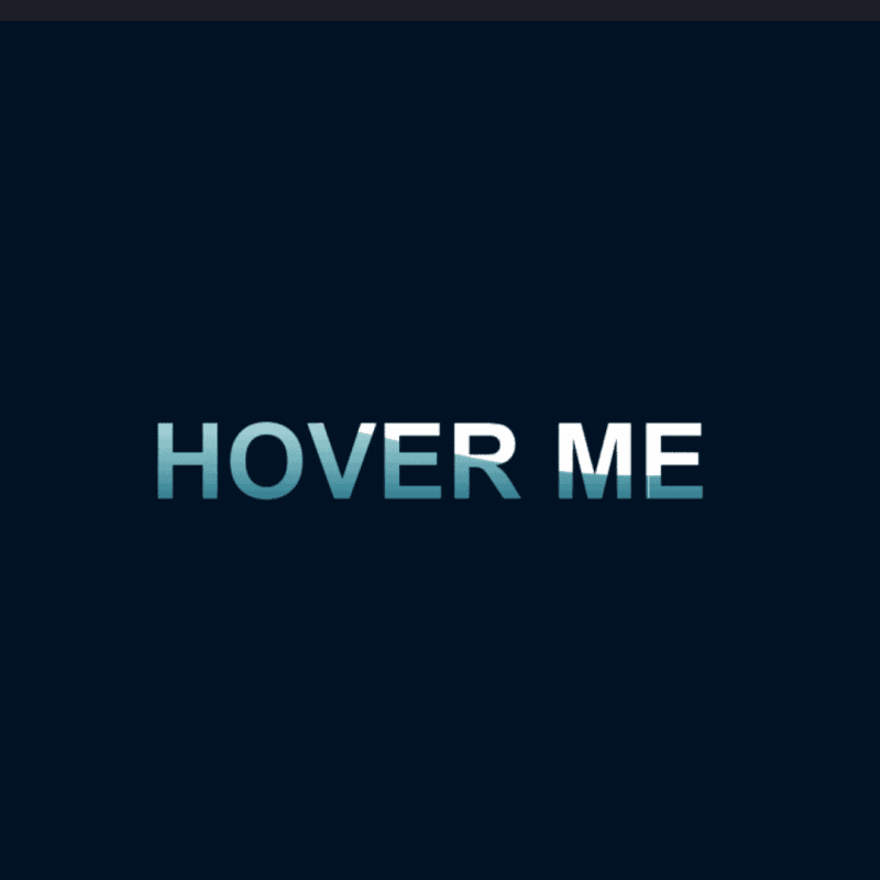 Creative Hover Effects - Wave