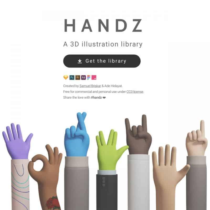 handz 3d gesture