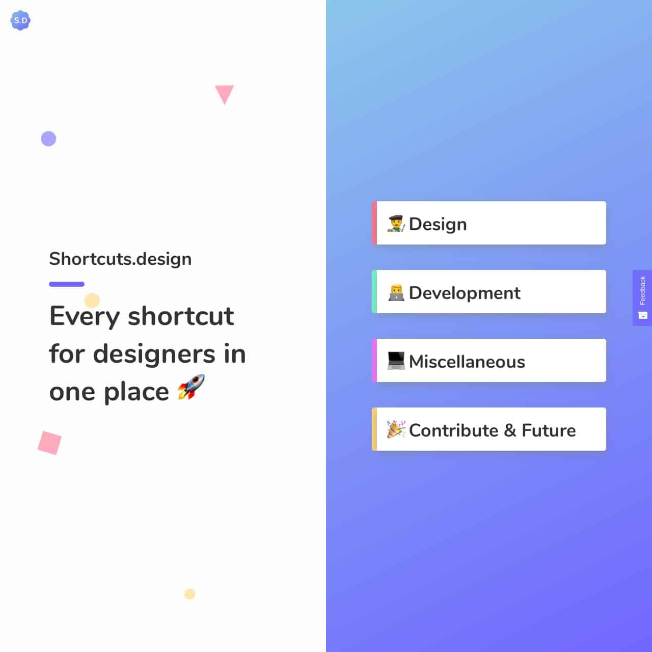 shortcuts-design