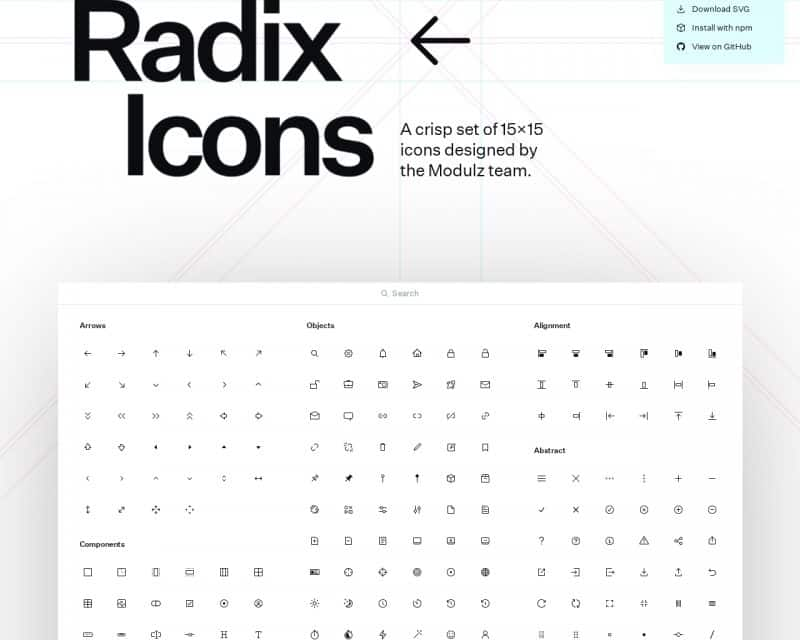 radix-icons